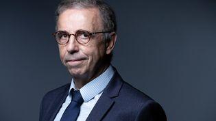Le maire de Bordeaux, Pierre Hurmic, le 25 août 2021 à Paris. (JOEL SAGET / AFP)
