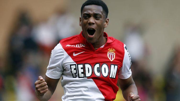 L'attaquant de l'AS Monaco, Anthony Martial