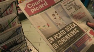 À Crépy-en-Valois (Oise), la ville où travaillait le patient décédé des suites du Covid-19, les habitants sont fébriles. Tout le monde redoute une contamination plus large. (France 2)