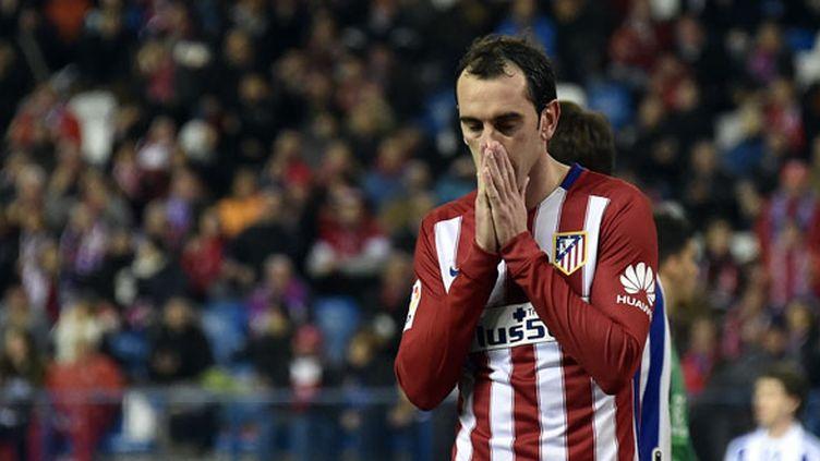 Le défenseur de l'Atletico Madrid, Diego Godin