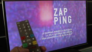 "France 2 diffuse, lundi 16 janvier 2017, sa version du célèbre ""Zapping"" de Canal+. (MAXPPP)"