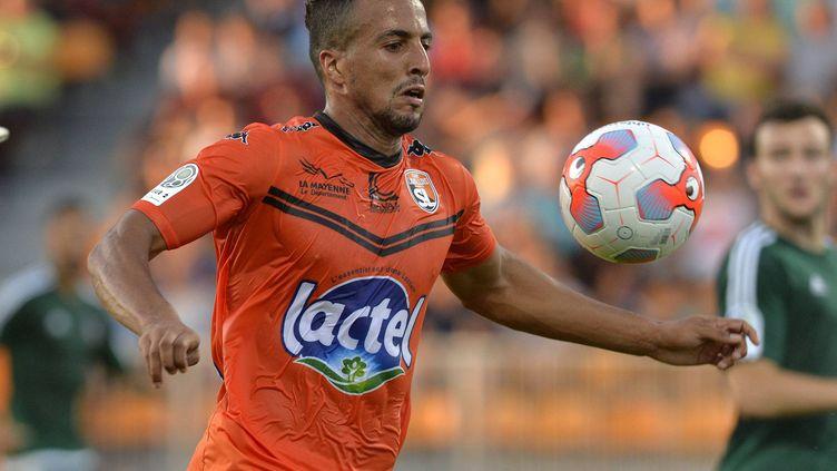 Le joueur de Laval Rachid Alioui (PHILIPPE RENAULT / MAXPPP)