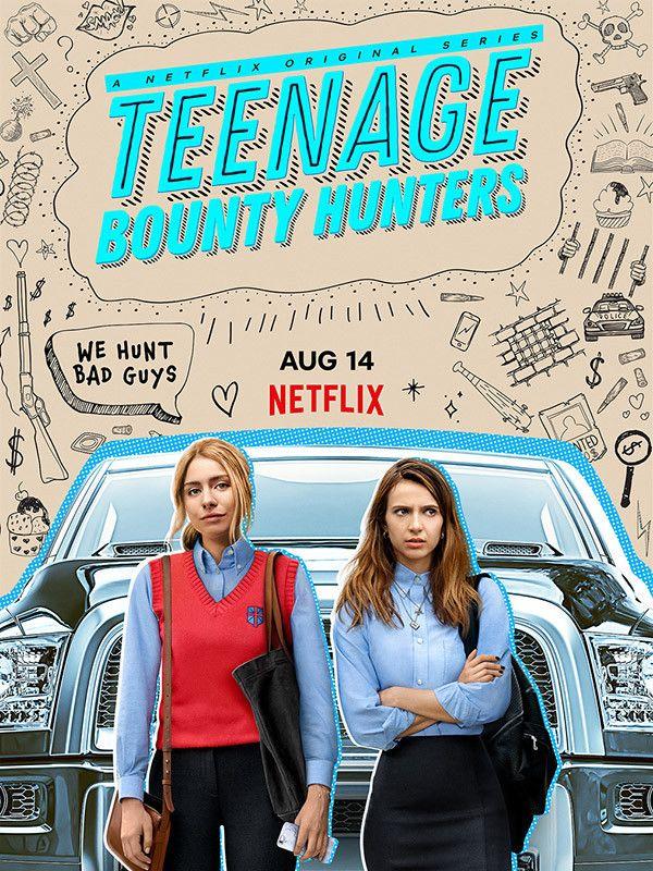 """La série """"Teenage Bounty Hunters"""" est disponible sur Netflix depuis le 14 août. (NETFLIX)"""
