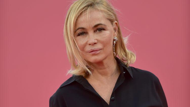 Emmanuelle Béart le 7 septembre 2019 au Festival du Film américain de Deauville (FRANCK CASTEL / MAXPPP)