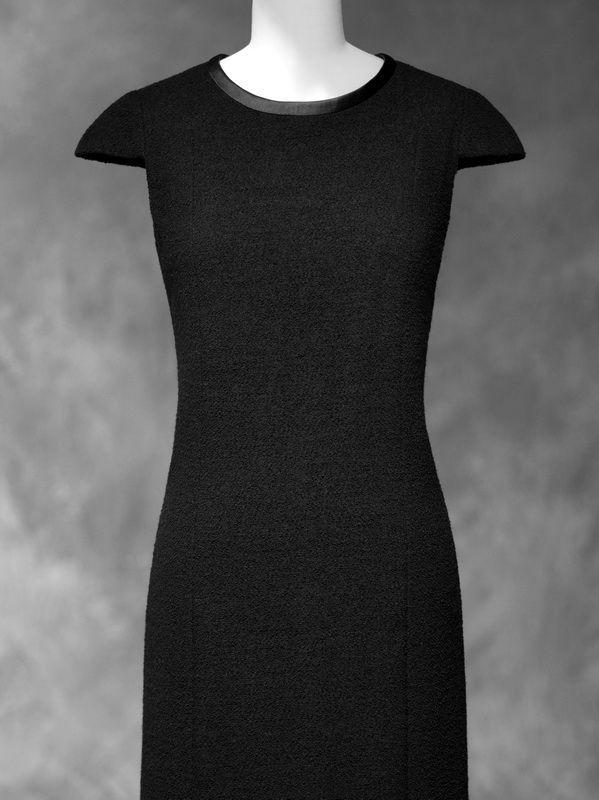 Robe en laine de soieKarl Lagerfeld pour Chanel haute couture automne-hiver 2006  (Savannah College of Art and Design)