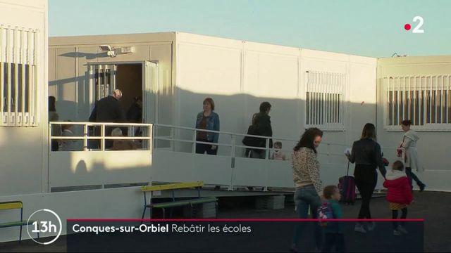 Inondations dans l'Aude : les écoliers de Conques-sur-Orbiel ont déménagé
