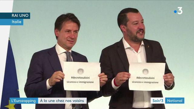 Eurozapping : un décret anti-migrants en Italie, un vote anti-burqa en Suisse