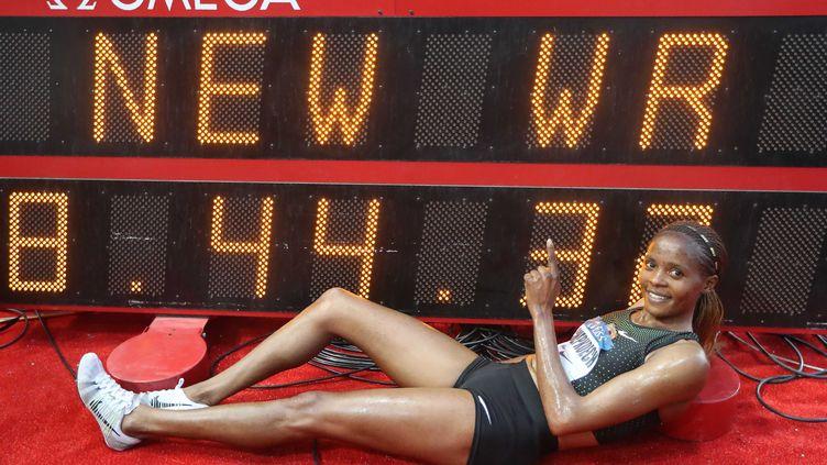 beatrice Chepkoech  (VALERY HACHE / AFP)