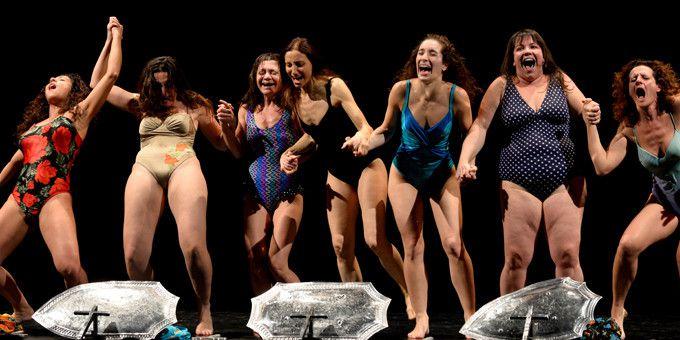 Les 7 soeurs Malacuso  (Tiziana Fabi/AFP)