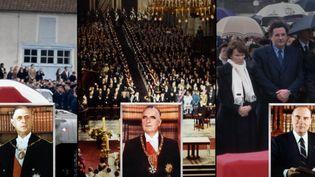 Charles de Gaulle, George Pompidou, François Mitterrand, trois présidents de la Ve République sont décédés. Comment leurs obsèques se sont-elles déroulées ? (FRANCE 2)