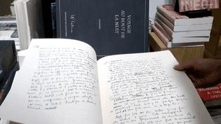 """Le manuscrit du """"Voyage au bout de la nuit"""" de Céline par les éditions des Saints-Pères  (France 3 Culturebox)"""