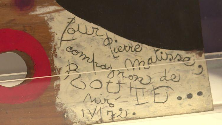 Pierre Matisse, un marchand d'art à New York,jusqu'au 30 septembre 2021 à Nice. (CAPTURE D'ÉCRAN FRANCE 3)