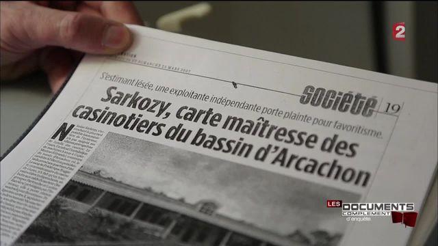 Complément d'enquête. Casinos Barrière : soupçons d'entente avec Nicolas Sarkozy