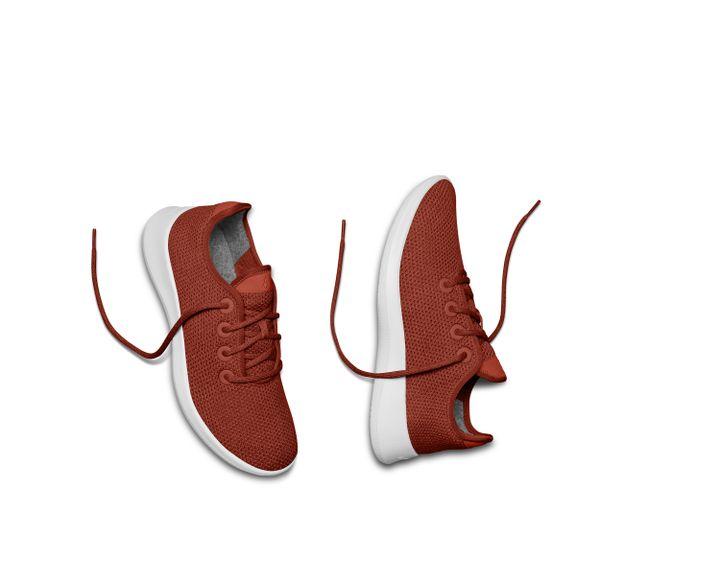Sneaker Allbirds, modèle TreeRunner employant de l'eucalyptus (RYAN UNRUH)