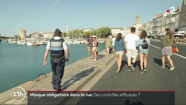 La Rochelle : comment contrôler le port du masque obligatoire dans la rue ?