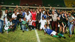 Les Comores se sont qualifiés pour la première fois de leur histoire à la CAN. (TDR)