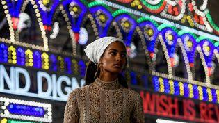 Dior croisière 2021, le 22 juillet 2020 en Italie (FILIPPO MONTEFORTE / AFP)