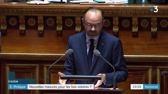 Édouard Philippe : de nouvelles mesures pour les bas salaires ?