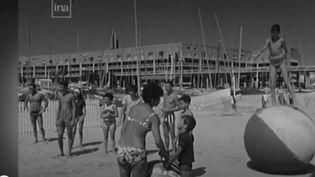 La ville de Royan, en Charente-Maritime, dans les années 1960. (FRANCE 2)