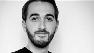 Cédric Gomet, victime de l'attentat du Bataclan. (FRANCE 3)