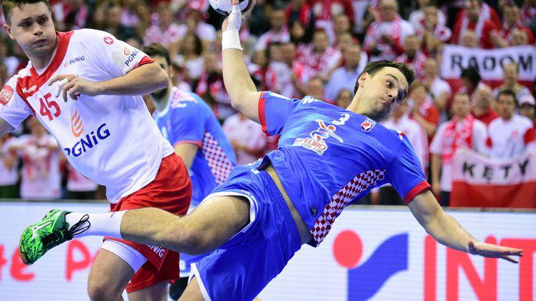 Marino Marić et les Croates ont réalisé un authentique exploit!  (ATTILA KISBENEDEK / AFP)