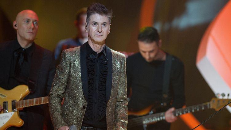 Étienne Daho aux Victoires de la musique, à Paris, le 14 février 2014  (PDN / Sipa)