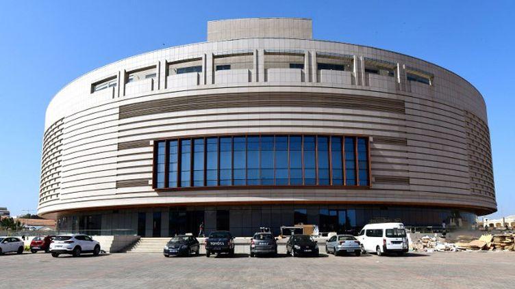 Le Musée des Civilisations noires de Dakar  (SEYLLOU / AFP)