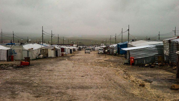Le camp de Kaya, au Kurdistan irakien, en février 2019. (MATTHIEU MONDOLONI / FRANCEINFO)