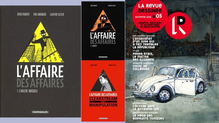 (© Laurent Astier, Dargaud / Nicolas de Crécy, la Revue dessinée)