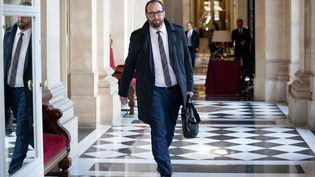Le député Christophe Arend à l'Assemblée nationale, le 13 novembre 2018. (MAXPPP)
