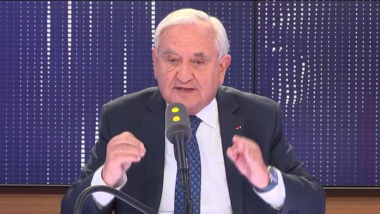 """L'ancien Premier ministre, invité du """"8h30 Fauvelle-Dély"""", jeudi 23 mai 2019. (FRANCEINFO / RADIOFRANCE)"""
