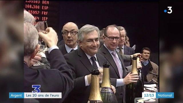 Économie : l'euro fête ses 20 ans