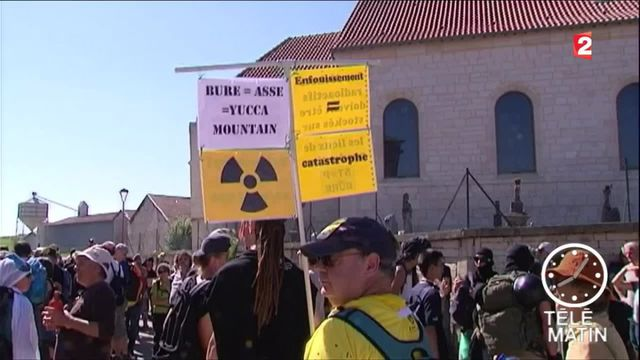 Meuse : la mobilisation se poursuit contre le projet du site nucléaire à Bure