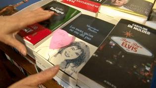 Le coup de coeur des libraires, une façon de se distinguer pour les premiers romans.  (France 3)