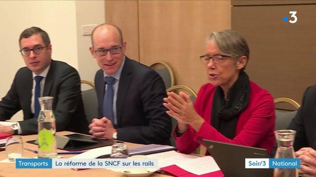 Le gouvernement enclenche la réforme de la SNCF