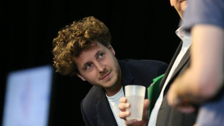 Le porte-parole d'Europe-Ecologie-Les Verts, Julien Bayou, le 24 septembre 2019 à Paris. (MICHEL STOUPAK / NURPHOTO / AFP)