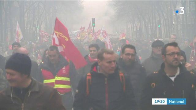 Grève : cheminots et fonctionnaires mènent front commun
