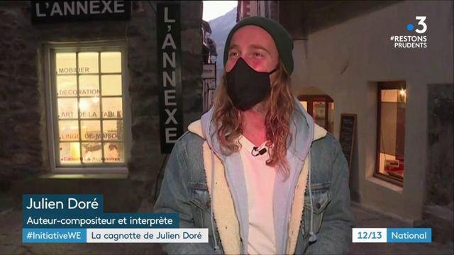 Tempête Alex : Julien Doré lance une grande cagnotte pour les sinistrés