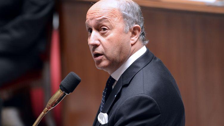 Laurent Fabius, le 3 juillet 2013. (BERTRAND GUAY / AFP)