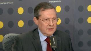 Philippe Bas, président (LR) de la commission d'enquête du Sénat, lundi 21 janvier 2019 (FRANCEINFO)
