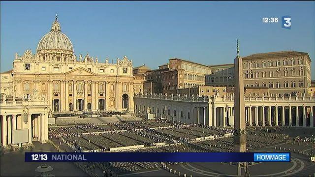 Père Hamel : le pape lui rend hommage