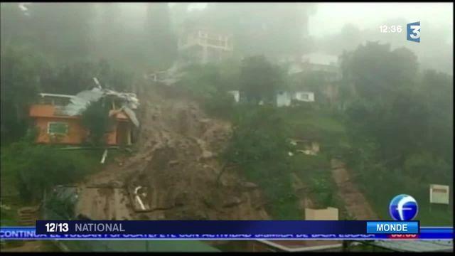 Mexique : 40 morts après le passage d'une tempête