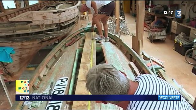 Patrimoine : des passionnés rénovent des barques catalanes