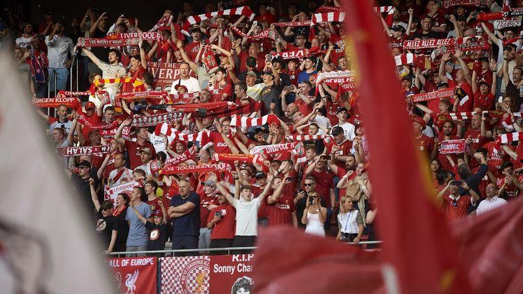 Les supporters de Liverpool lors de la finale de la Ligue des champions le 1er juin 2019.  (JOSE BRETON / NURPHOTO)