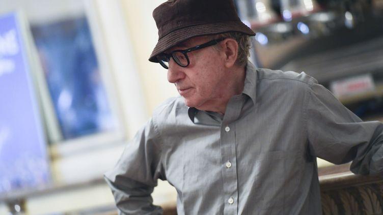 Woody Allen à Milan en juillet 2019 (MIGUEL MEDINA / AFP)