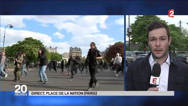 Loi El Khomri : le calme est revenu dans la capitale après une mobilisation ponctuée par des violences