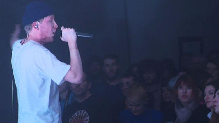 Eddy de Pretto sur scène à Besançon  (France 3 / Culturebox)