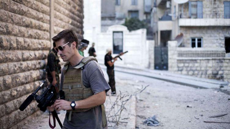 (James Foley à Alep en Syrie avant sa disparition à la fin de l'année 2012 © Manu Brabo/AP/SIPA)