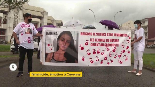 Emotion à Cayenne féminicide