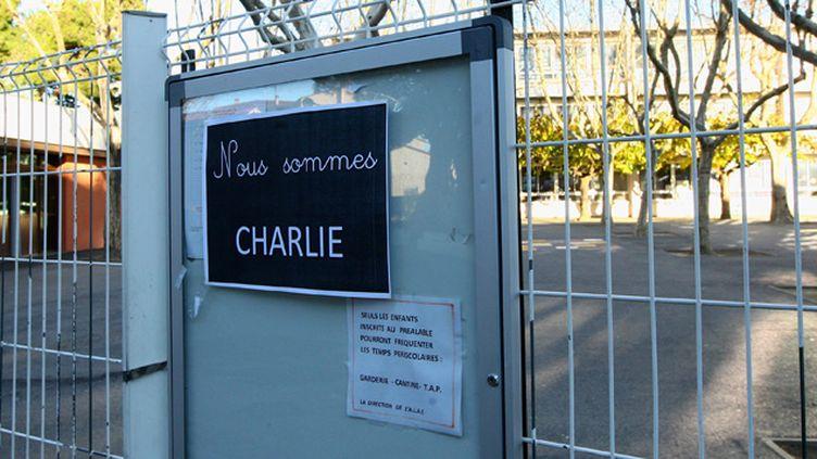 (Un lycéen menacé de mort pour avoir soutenu Charlie Hebdo © MaxPPP)